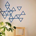 Déco murale washi tape