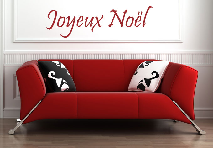 photo stickers muraux noel