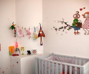 Déco murale chambre bébé