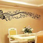 Décoration murale note de musique