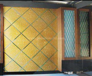 Décoration murale verre