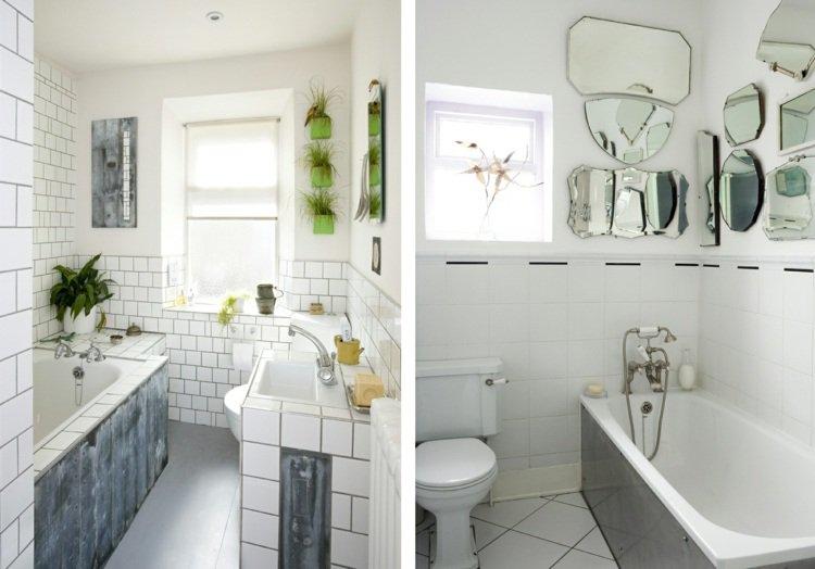Joli id e d coration murale salle de bain - Deco murale salle de bain ...