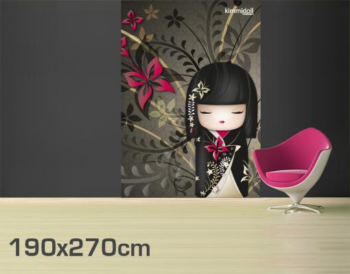 photo stickers muraux kimmidoll