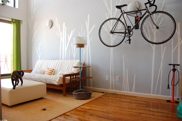 photo déco murale washi tape
