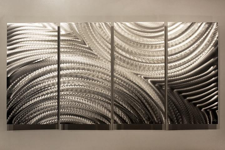 photo d coration murale m tallique 2. Black Bedroom Furniture Sets. Home Design Ideas