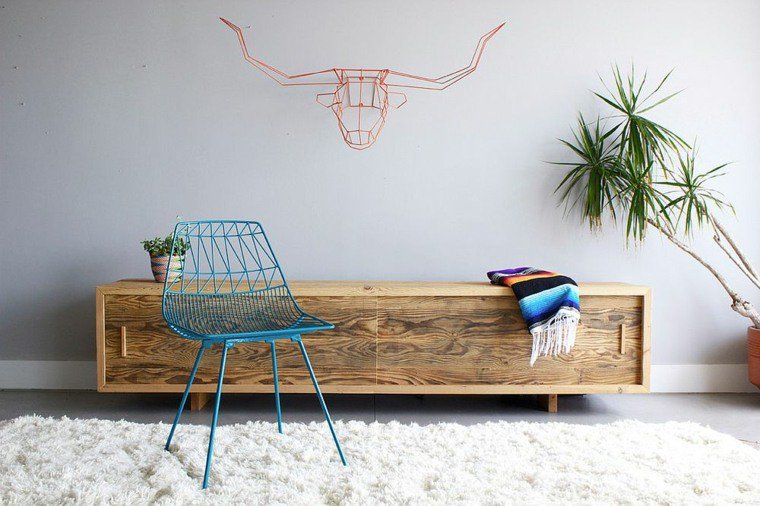 photo d coration murale m tallique 3. Black Bedroom Furniture Sets. Home Design Ideas