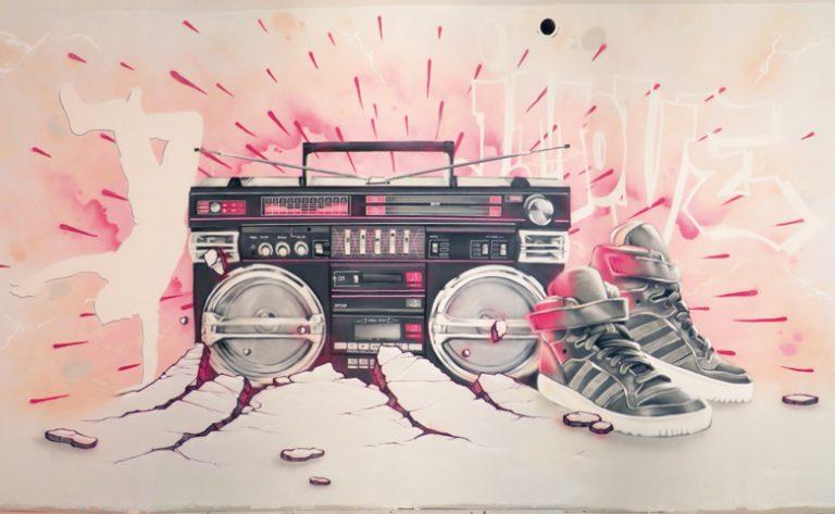 photo décoration murale note de musique