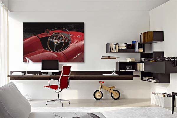 photo d coration murale voiture 3. Black Bedroom Furniture Sets. Home Design Ideas