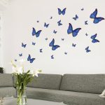 Stickers muraux papillon
