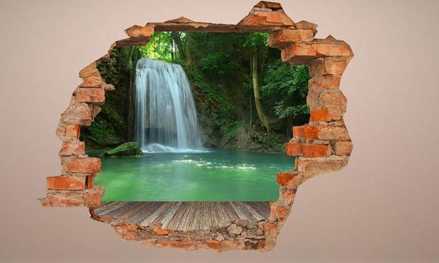 photo stickers muraux effet 3d