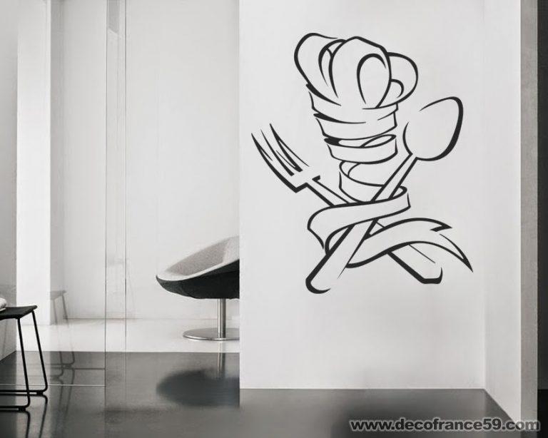 photo deco sticker mural texte