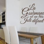 Deco sticker mural texte