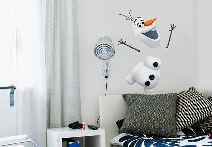 photo deco stickers reine des neiges