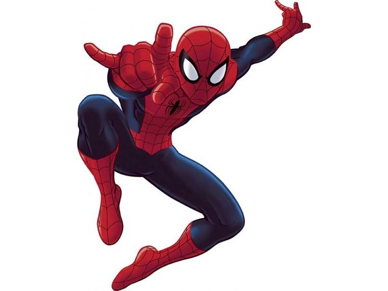 photo stickers muraux spiderman