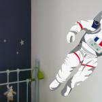 Stickers muraux espace
