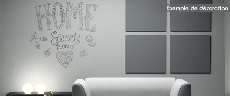 photo stickers muraux home sweet home