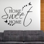 Stickers muraux home sweet home