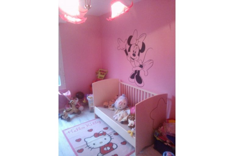 photo stickers muraux minnie