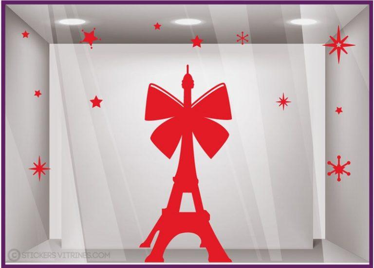 photo décoration sticker tour eiffel