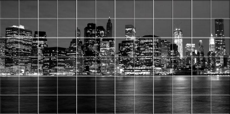 photo deco sticker new york