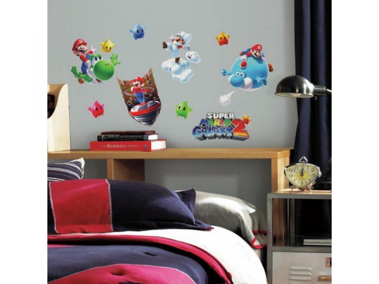 photo stickers muraux yoshi