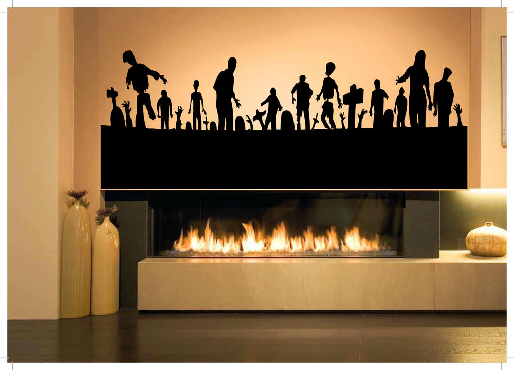 photo stickers muraux zombie 2. Black Bedroom Furniture Sets. Home Design Ideas