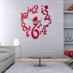 Stickers deco horloge