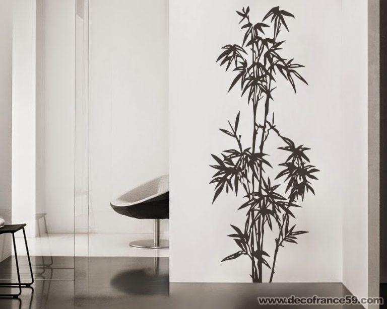 photo stickers muraux bambou