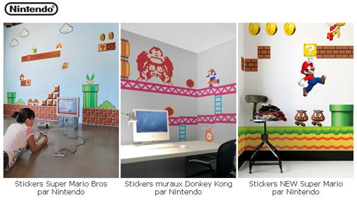photo stickers muraux geek