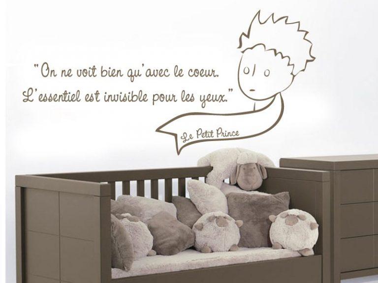 stickers muraux le petit prince. Black Bedroom Furniture Sets. Home Design Ideas