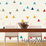 Stickers muraux triangle