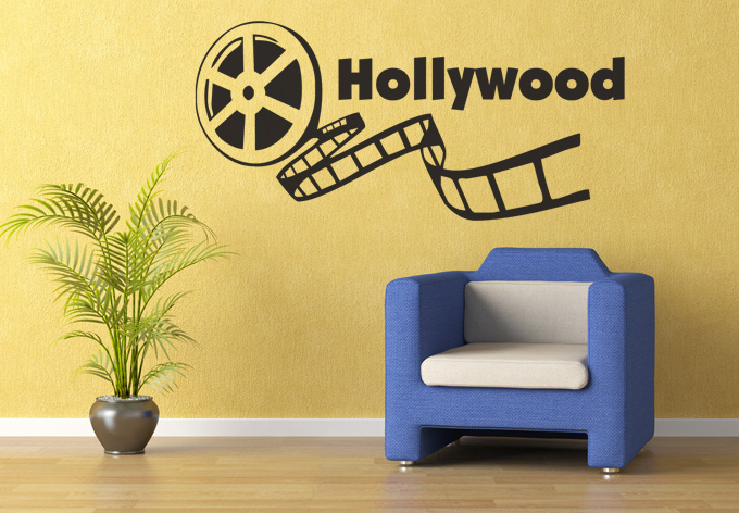 photo décoration stickers hollywood