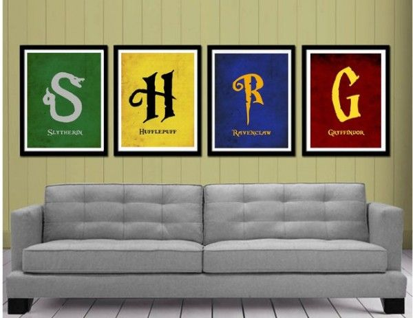 photo stickers muraux harry potter