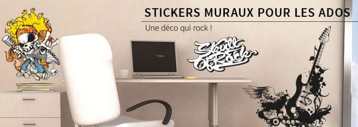 photo stickers muraux ado