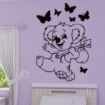 Stickers muraux koala
