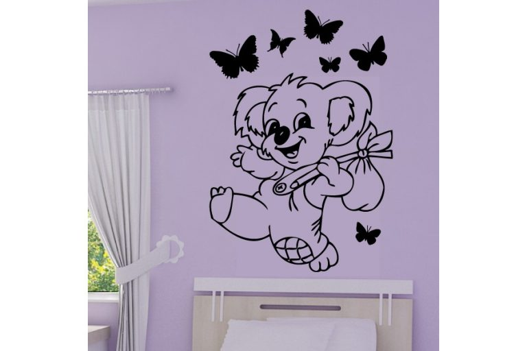 photo stickers muraux koala