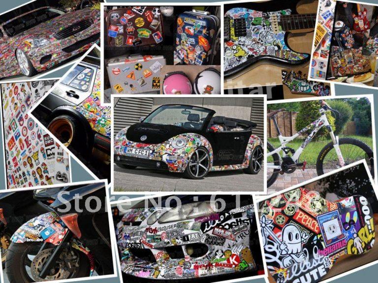 photo stickers muraux vtt
