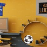 Sticker deco football