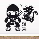 Stickers muraux ninjago