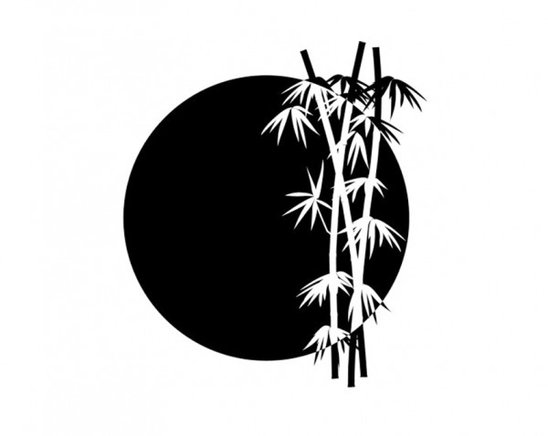 photo stickers muraux zen bambou
