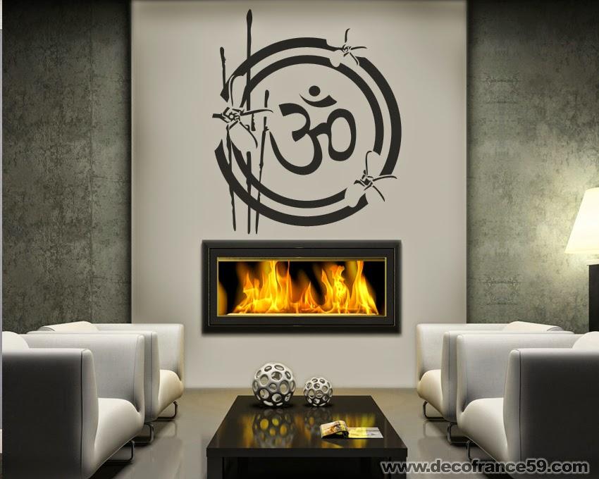 Stickers Muraux Zen Bambou Sympa. «