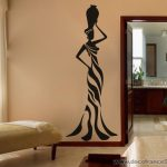 Stickers deco africain