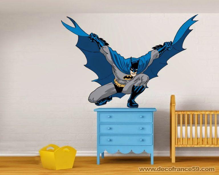 photo stickers muraux batman