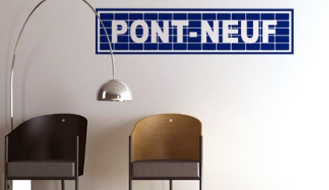 photo deco stickers paris