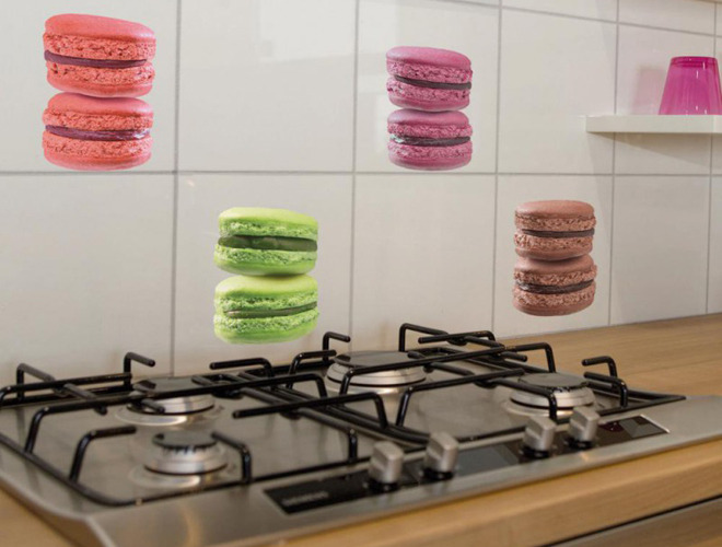 photo idee deco stickers cuisine