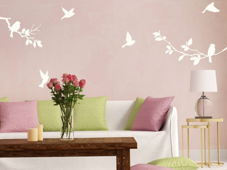 photo stickers muraux oiseaux