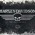 Stickers muraux harley davidson