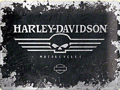 photo stickers muraux harley davidson