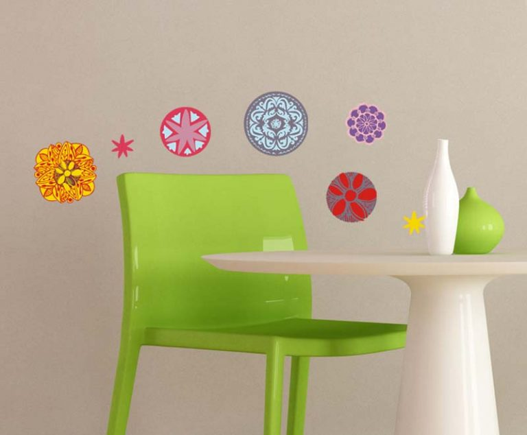photo stickers muraux mandala