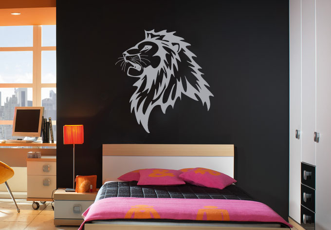 photo stickers muraux roi lion